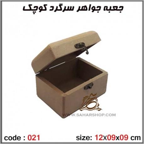 جعبه چوبی خام 021