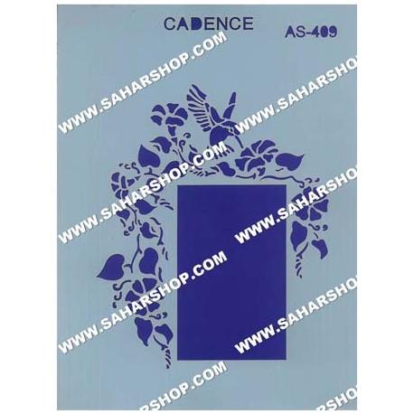 شابلون استنسیل کادنس AS-409