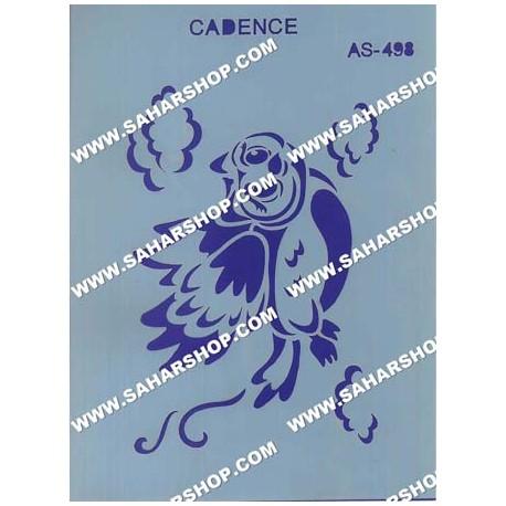 شابلون استنسیل کادنس AS-498