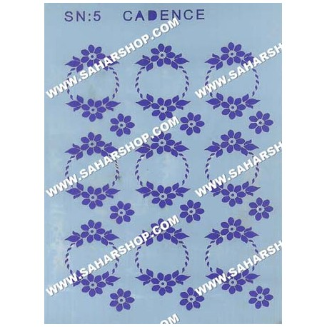 شابلون استنسیل کادنس SN-05