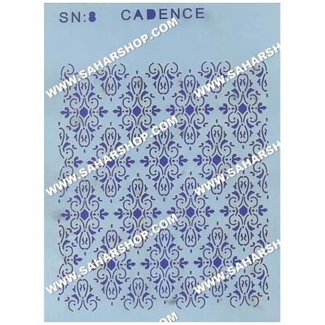 شابلون استنسیل کادنس SN-08