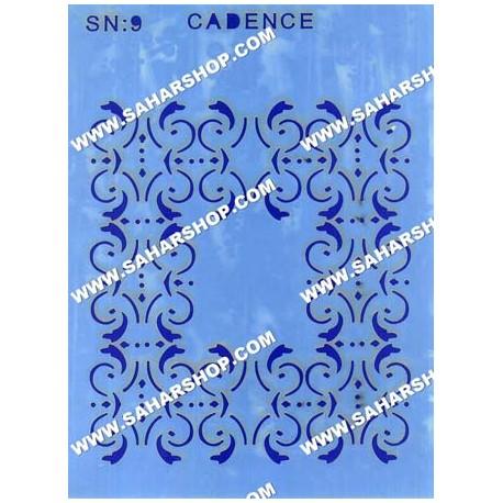 شابلون استنسیل کادنس SN-09