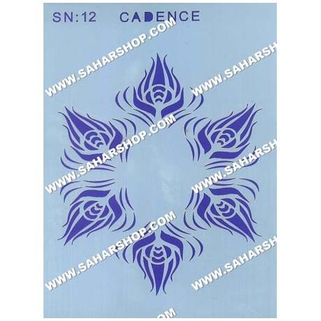 شابلون استنسیل کادنس SN-12