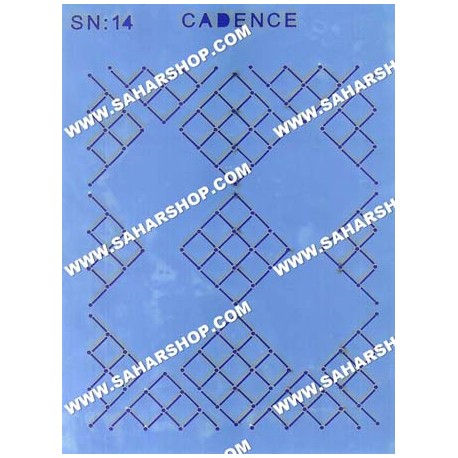 شابلون استنسیل کادنس SN-14