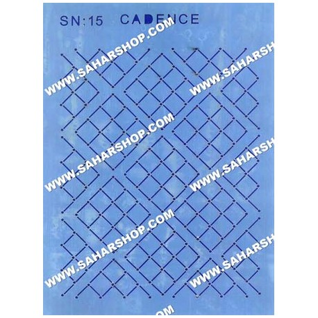 شابلون استنسیل کادنس SN-15