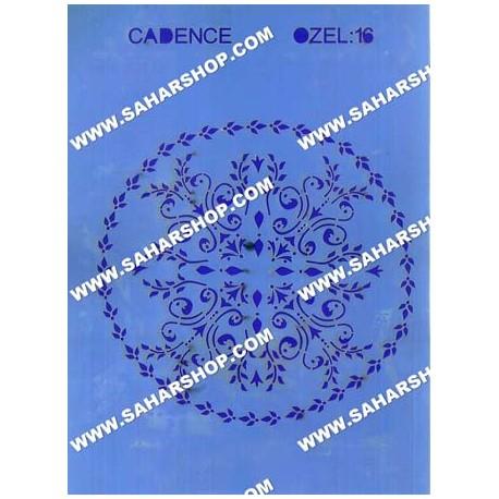 شابلون استنسیل کادنس OZEL-16