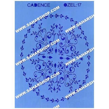 شابلون استنسیل کادنس OZEL-17