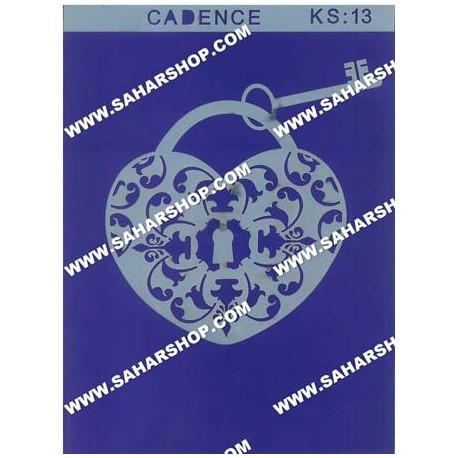 شابلون استنسیل کادنس KS-013