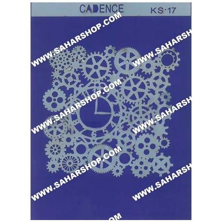 شابلون استنسیل کادنس KS-017