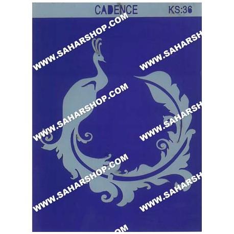 شابلون استنسیل کادنس KS-036