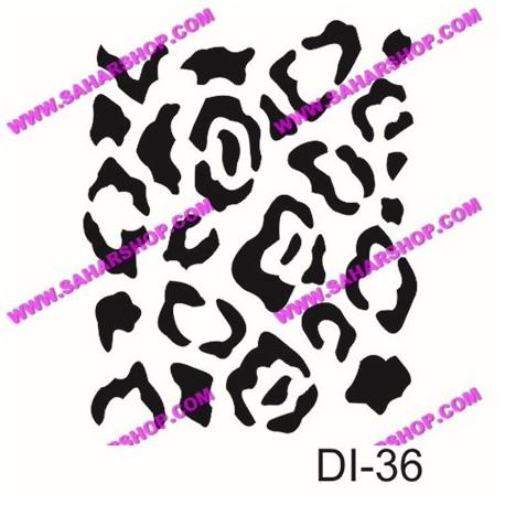 شابلون استنسیل کادنس DI-0036