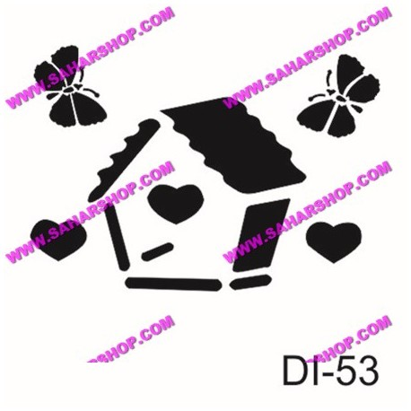 شابلون استنسیل کادنس DI-0053