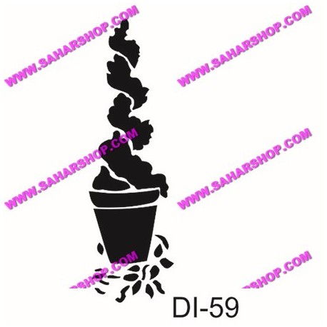 شابلون استنسیل کادنس DI-0059