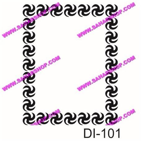 شابلون استنسیل کادنس DI-0101