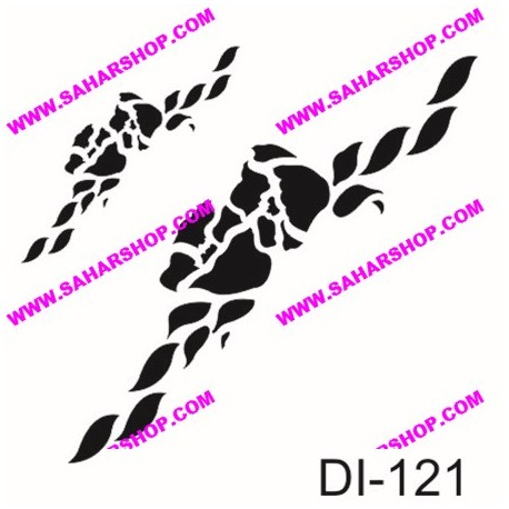 شابلون استنسیل کادنس DI-0121