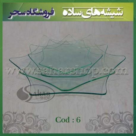 ظروف شیشه ای کد 006