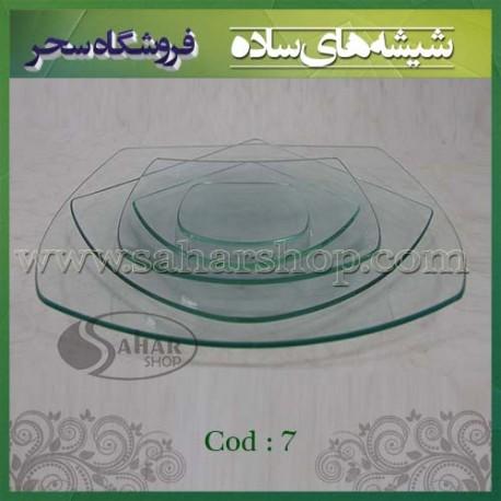ظروف شیشه ای کد 007