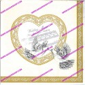 دستمال طرح دار المانی 0645